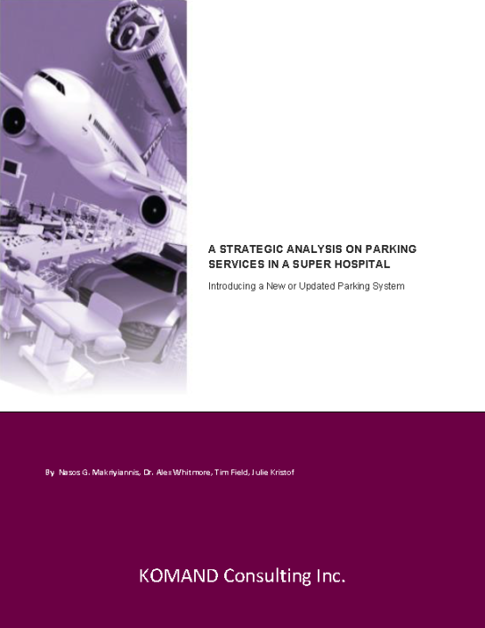Strategy Paper on Parking Services in a Super Hospital